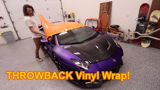 New Wrap On The Stradman's Aventador! *BEHIND THE SCENES*