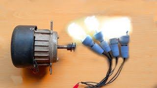 Repeat youtube video How To Make Free Energy Generator 220V From Washing Machine Motor. DIY Free Energy Generator.
