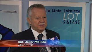 (news) - 2017-09-29 - PLL LOT kpt Jerzy Makula odlatuje na emeryture