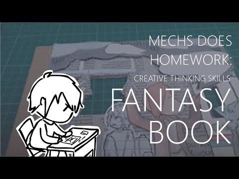 Mechs does Homework: Creative Thinking Fantasy Book