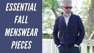 Fall Menswear Outfit Essentials - Must Have Items