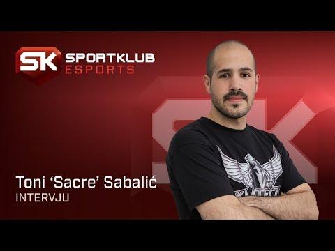 "Toni ""Sacre"" Sabalić   Intervju   Sport Klub Esports"