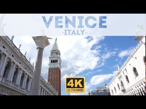 Venice Italy Tour & Things to Do  4k