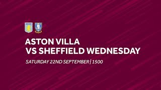 Aston Villa 1-2 Sheffield Wednesday | Extended highlights