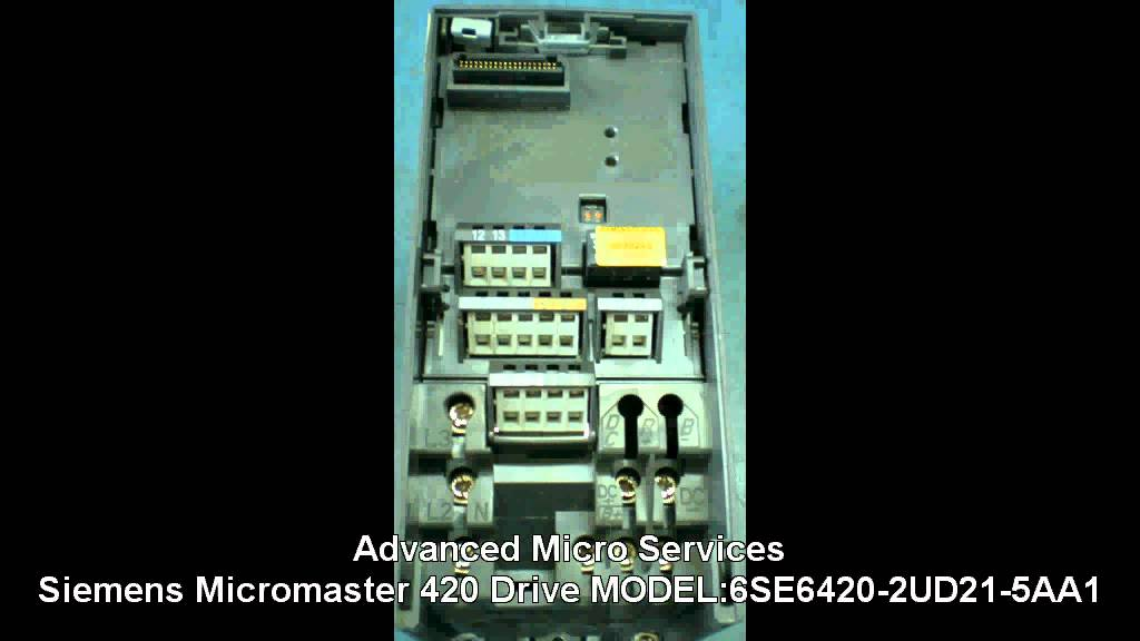 maxresdefault siemens micromaster 420 drive,6se6420 2ud21 5aa1 repair @ advanced siemens micromaster 420 wiring diagram at mifinder.co