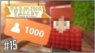FÖRSÖKER SKAFFA VÄNNER! #15 - Minecraft: Farming Valley Modpack