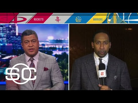 Stephen A. Smith comments on Rockets win over Warriors | SportsCenter | ESPN