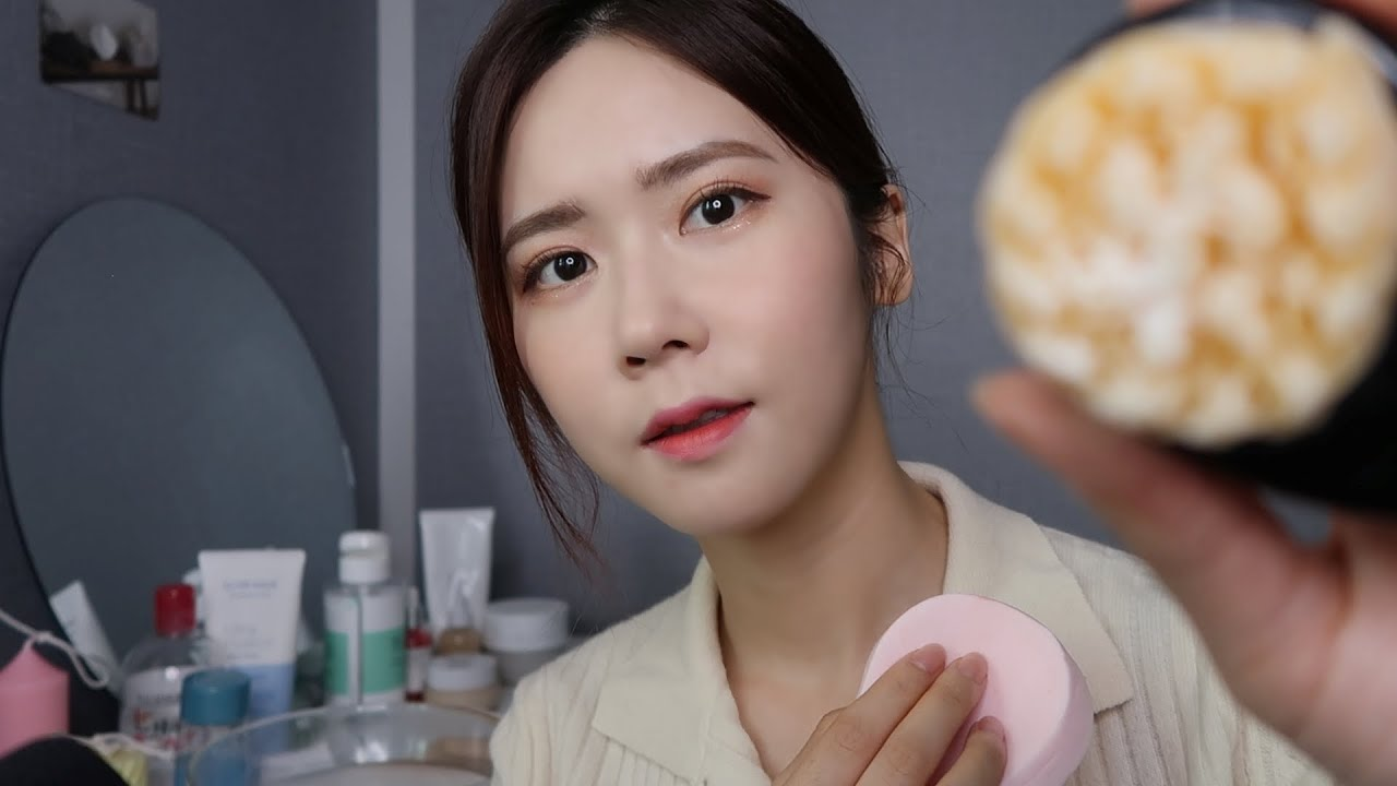 ASMR[NoTalking]클렌징부터 스킨케어하는 소리 | Removing Your Makeup & Doing Your Skincare
