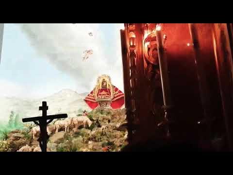 """Salve y sevillana """"En frente de tí"""" a la Virgen de Aguas Santas. Fiesta Campera 2019"""