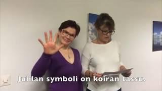 Finnish language - kieliharjoittelu Mikkelissä 2017