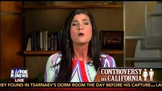 Dana Loesch VS Leslie Marshall - Transgender Controversy in California Schools K-12 - (Hannity)