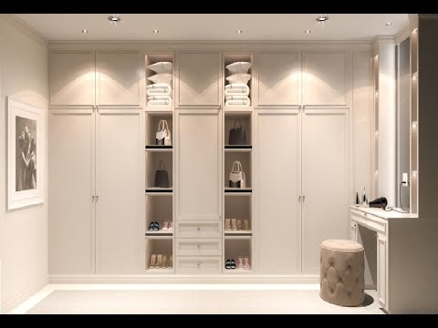 Fitted Wardrobes Ideas Dressing Room Designs Uk Youtube