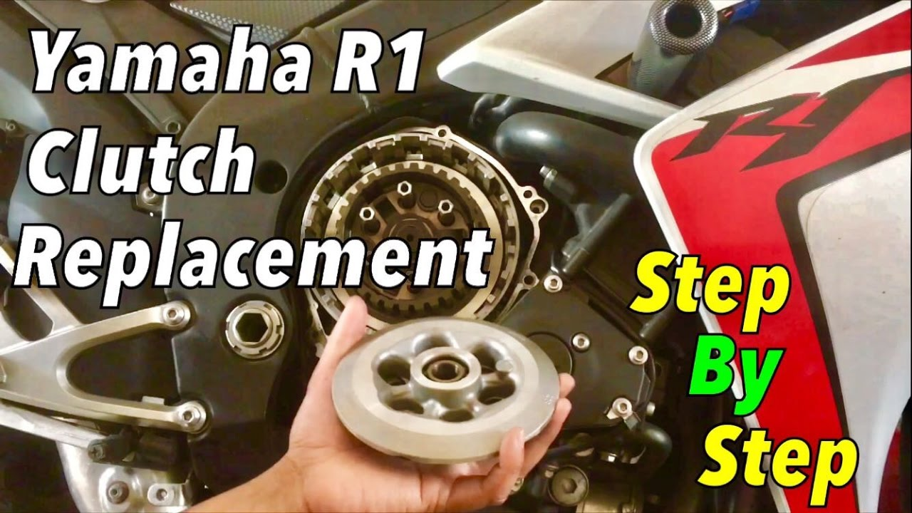 Yamaha R1 Clutch Replacement Step By Detailed Youtube Tacho Connecting Wiring Diagram For 04 06