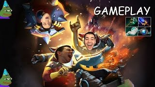 dota 2 birthday explosions techies live gameplay commentary