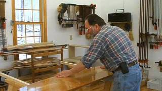 Making A Veneered Sideboard Part 7-2, Finishing The Quilted Maple Top: Andrew Pitts~furnituremaker