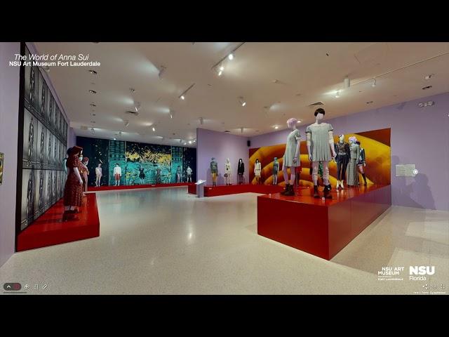 Explore 'The World of Anna Sui'.