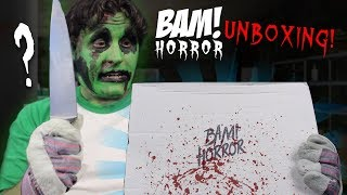 BAM! Box Horror (January 2019) UNBOXING! | THE GHOULOG