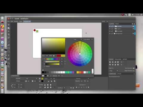 Gravit RC1 design app on linux