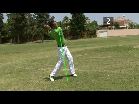 How To Learn Hitting From An Uphill Lie