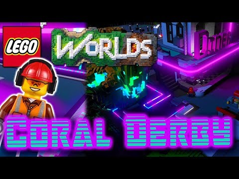 Building Coral Derby: Roller Skating Rink: Designing and Building in Lego Worlds