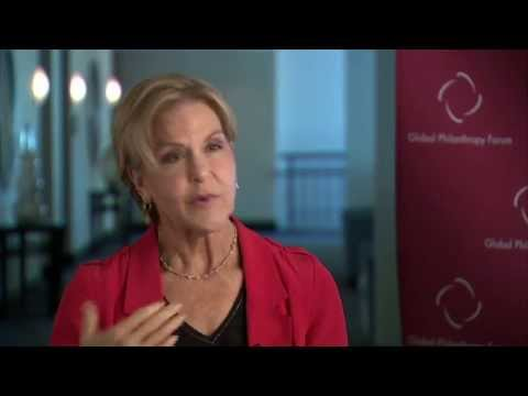 GPF 2013 - interview with Judith Rodin, President, The Rockfeller Foundation