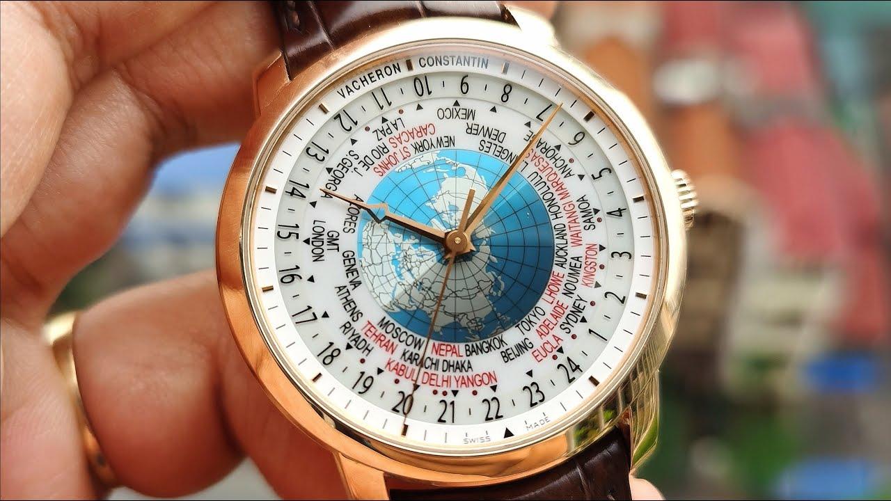 [Tuyệt Phẩm] Vacheron Constantin Patrimony Traditionnelle World Time 86060/000R-9640 | ICS Authentic