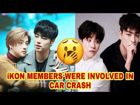 IKON MEMBERS INVOLVED IN CAR CRASH