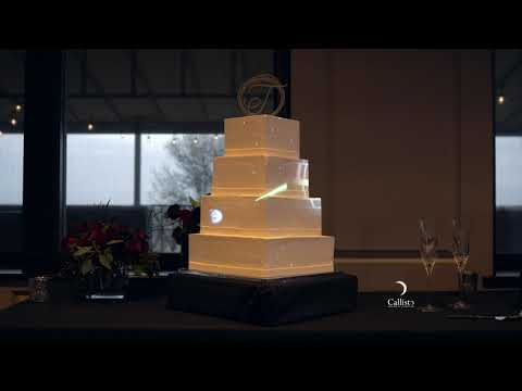Star Wars and Video Game Inspired Cake Mapping