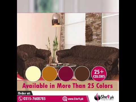 Ready To Wear Sofa Covers Now Available in Pakistan