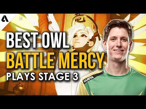 Best OWL Battle Mercy Plays - Overwatch League Stage 3