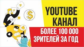 YouTube канал более 100 000 зрителей за год | Евгений Гришечкин