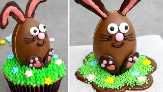 Chocolate Bunny Eggs with Surprise Toy Inside | EASTER Eggs Decorating Ideas