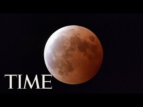 Watch A Blue Moon, Supermoon & Total Lunar Eclipse All In One Pass Over Asia | TIME
