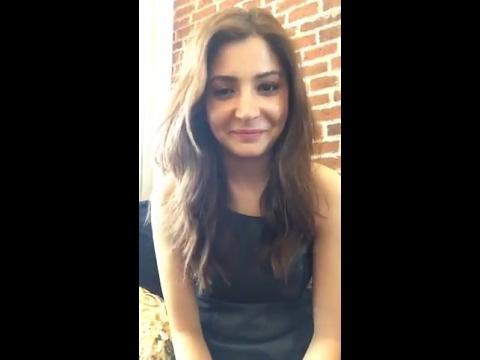 Anushka Sharma Live Chat  Sharing Phillauri Official Trailer