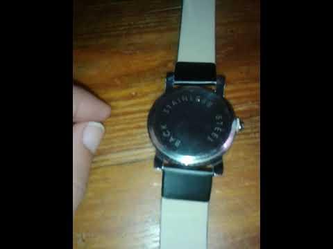 Review Male Analog Quartz Watch  |  BLACK