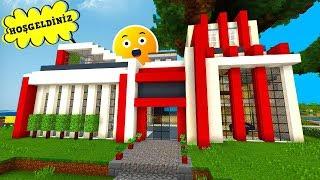 KONUŞAN MİNECRAFT EVİ ! (Minecraft Akıllı Evler)