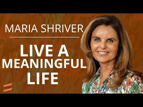 Maria Shriver on Reflections for a Meaningful Life with Lewis Howes Mp3