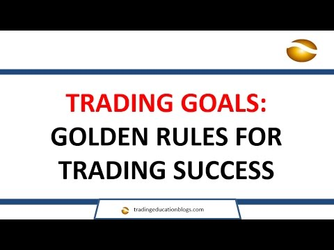 Trading Success: Golden Rules From 16 Years of Experience