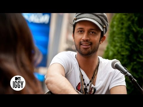 Pakistani Rockstar Atif Aslam's Language of Love — MTV Iggy Interview