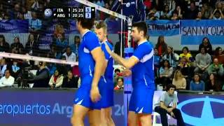 FiVB World League 2013 Italy vs Argentina Full Match