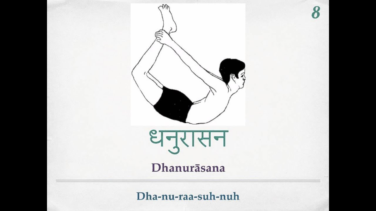 Sivananda Yoga 12 Basic Asanas Sanskrit Pronunciation Youtube