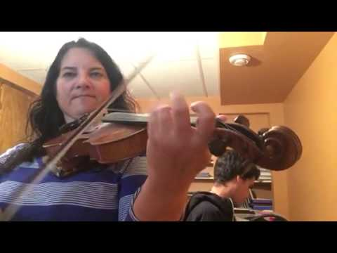 Day 253 - Reel St. Stanislas - Patti Kusturok's 365 Days of Fiddle Tunes