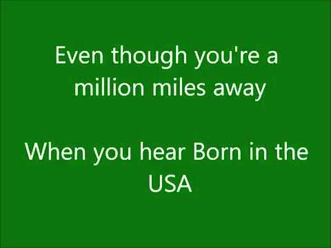 Springsteen - Eric Church - lyrics