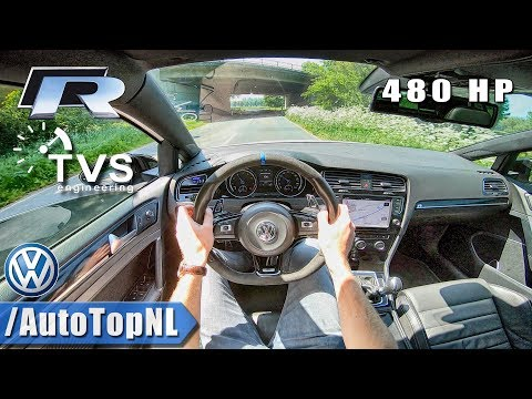 VW GOLF R 480HP | TVS Engineering | POV Test Drive by AutoTopNL