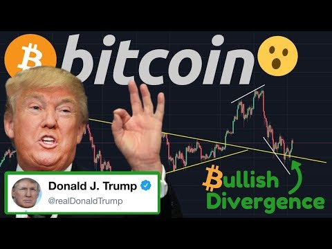 BITCOIN BOUNCE?! | BREAKING NEWS: Donald Trump Tweets