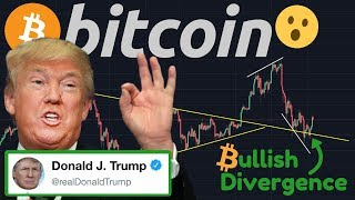 "BITCOIN BOUNCE?! | BREAKING NEWS: Donald Trump Tweets ""I'm Not A Fan Of Bitcoin""!!!!!"
