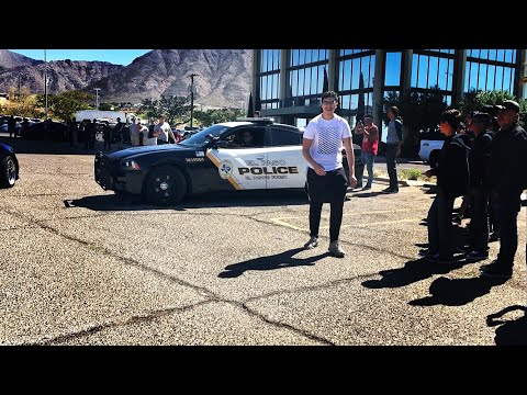 Police Shut Down El Paso Car Meet!!! April 8, 2018 -  Spotted EP [Vlog]