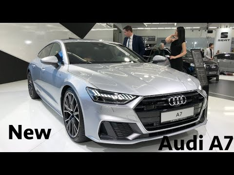new audi a7 s line 2019 first look in 4k youtube. Black Bedroom Furniture Sets. Home Design Ideas
