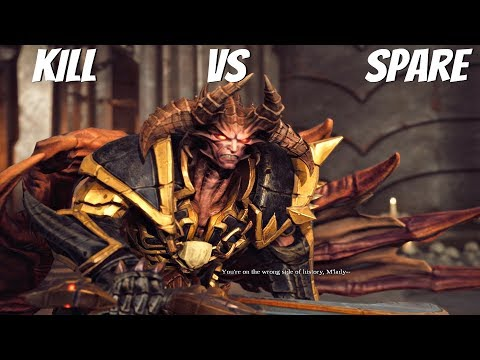 Darksiders 3 - Kill vs Spare Abraxas (All Choice Outcomes) PS4 Pro