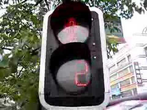EGL Solar Traffic Light operation